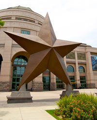 The Big Texas Star at the Bill Bullet Museum